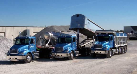 Slag Sand And Gravel : Whitcomb trucking inc general hauling sand stone slag